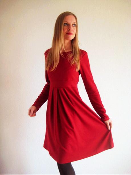 Lange jurk rood - Hedendaags kleedje rots bobois ...
