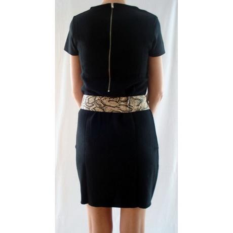 Korte zwarte jurk