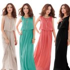 Maxi dress chiffon