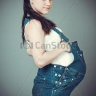 Overall vrouw