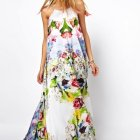 Maxi dress bloemen