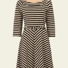 King louie skater dress two tone stripe